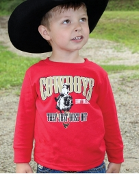 Cowboy Hardware® Boys' CowBoys' Long Sleeve Tee