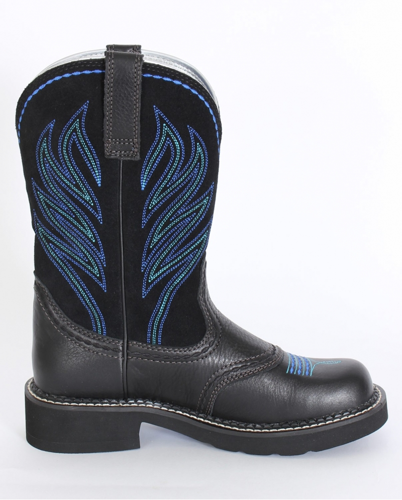 Ariat® Ladies' Probaby Flame Black Deertan Boots - Fort Brands