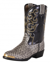 Smoky Mountain® Kids' Laramie Python Print Boots - Child