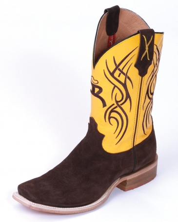 Hooey® Collection by Twisted X Boots® Men's Ruff Out Roughy Boots