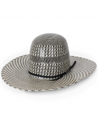 American Hat Company® Two Tone Open Straw Hat