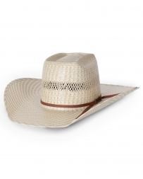 American Hat Company® Two Tone Brick Straw Hat