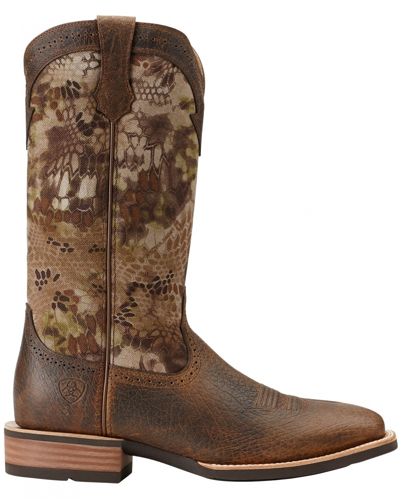 Ariat® Men's Quickdraw Earth Highlander Boots - Fort Brands