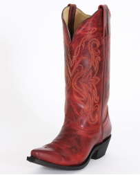 Smoky Mountain® Ladies' Madison Red Boots