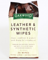 Oakwood® Leather Wipes
