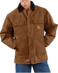 Carhartt® Men's Sandstone Traditional Arctic Quilt-Lined Coat