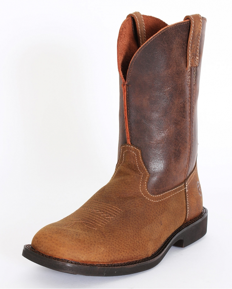 roper 174 s square toe distressed boots fort brands