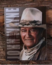 John Wayne Tin Sign - Front Profile