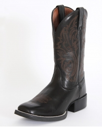 Nocona® Ladies' Black Deertanned Boots