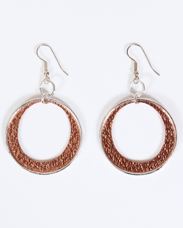 Vogt® Hammered Copper Earrings
