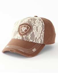 Ariat® Ladies' Brown Lace Velcro Hat