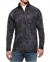 Ariat® Men's Kryptek 1/4 Zip Black Typhoon Jacket