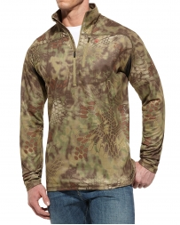 Ariat® Men's Kryptek 1/4 Zip Olive Camouflage Jacket