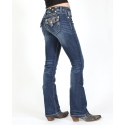 Miss Me® Ladies' Midrise Boot Cut Jeans