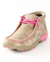 Twisted X® Ladies' Pink Driving Mocs