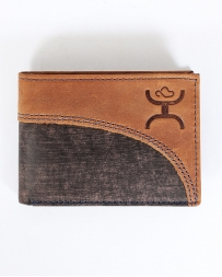 Hooey® Men's Signature Front Pocket Bi-fold Wallet