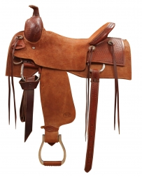 "Court's Saddlery Company® Courts Ranch Roper 1/4 Breed Saddle - 16"" Seat"