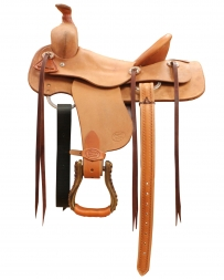 "Court's Saddlery Company® Courts Youth Ranch Saddle - 14"" Seat"