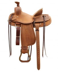 "Bar H Equine® Mini Motes Youth Ranch Saddle - 13"" Seat"