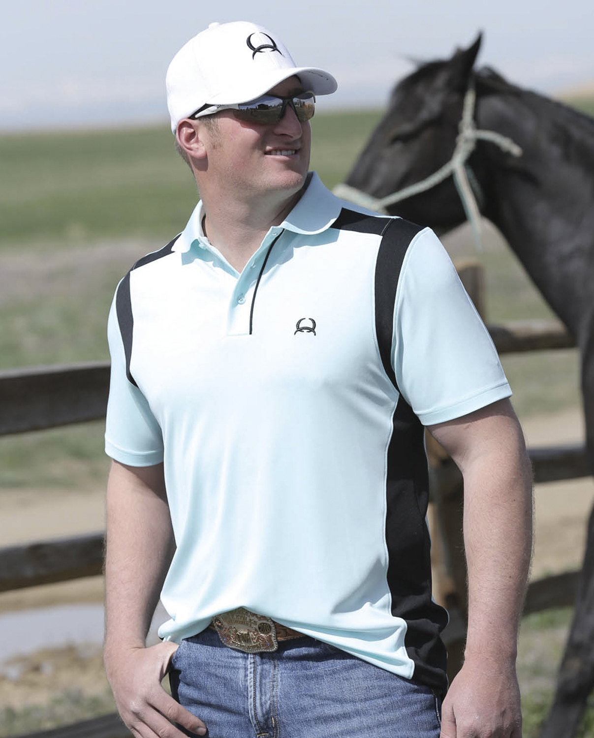 280305b3 Cinch® Men's Athletic Polo Shirt - Fort Brands