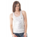 Cowgirl Tuff® Ladies' Tank With Silver Foil