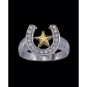 Montana Silversmiths® Horseshoe Star Ring