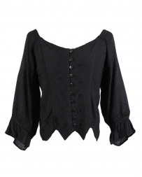 VIP Fashions® Ladies' Blouse With Ruffle Back