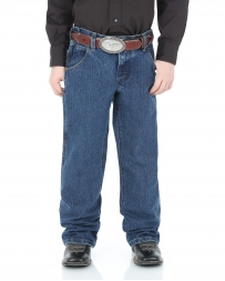 Wrangler® Boys' Advanced Comfort Stone Washed Cowboy Cut Jeans