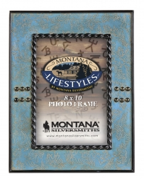 Montana Silversmiths® Faux Leather Stitched 8 X 10 Frame