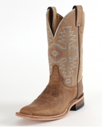 "Justin® Bent Rail® Ladies' 11"" Chocolate Python Cowhide Boots"