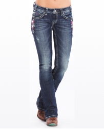 Rock & Roll Cowgirl® Ladies' Rival Low Rise Jeans
