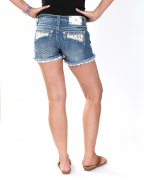 Miss Me® Ladies' Boho Embroidery Shorts
