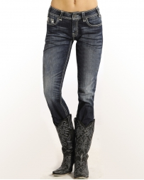 Rock & Roll Denim® Ladies' Mid Rise Skinny Jeans