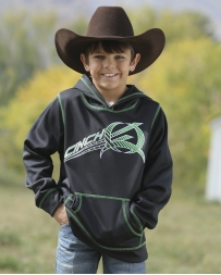 Cinch® Boys' Black Tech Hoodie