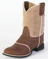 Smoky Mountain® Kids' Ruby Bell Western Boots - Child