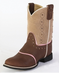 Smoky Mountain® Kids' Ruby Bell Western Boots - Youth