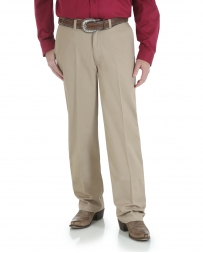 Wrangler® Riata® Men's Advanced Comfort Cotton Flat Front Pants