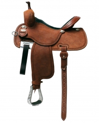 "Martin Saddlery® Martin Crown C Wide 8.5"" Gullet Saddle - 14 1/2"" Seat"