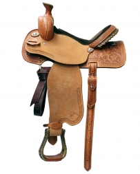 "Courts Saddlery® Miss Rodeo America Combo Saddle - 14"" Seat"