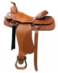"Billy Cook Saddlery® - Greenville, TX CR Dogger Saddle - 16"" Seat"