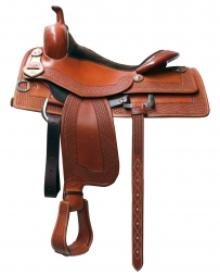 "Bob's Custom Saddles® Bob Avila Cowhorse Saddle - 16"" Seat"