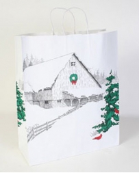Winter Barn Gift Bag - Small
