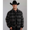 Stetson® Men's Plaid Wool Blend Jacket