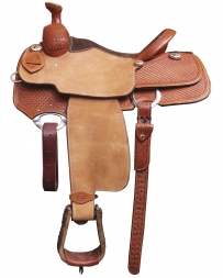 "Cactus Saddlery® Elite Team Roper - 15"" Seat"