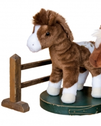 Douglas Cuddle Toys® Warrior Blanket App Horse