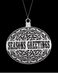 Montana Silversmiths® Seasons Greetings Ornament