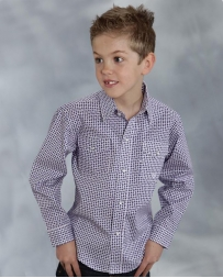 Roper® Boys' Amarillo Snap Shirt