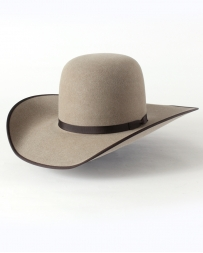 Rodeo King® Open Crown 7X with Bound Edge Felt Hat