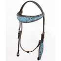 Top Hand Tack® Antique Leather Headstall