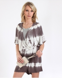 Vocal® Ladies' Tie-Dye Romper
